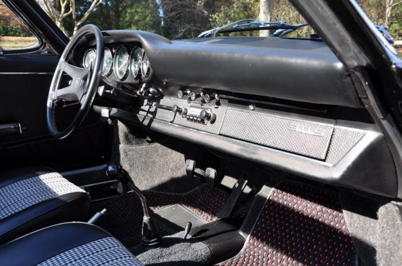 Black 1967 Porsche 911S Soft Window TARGA for sale in Raleigh NC 21