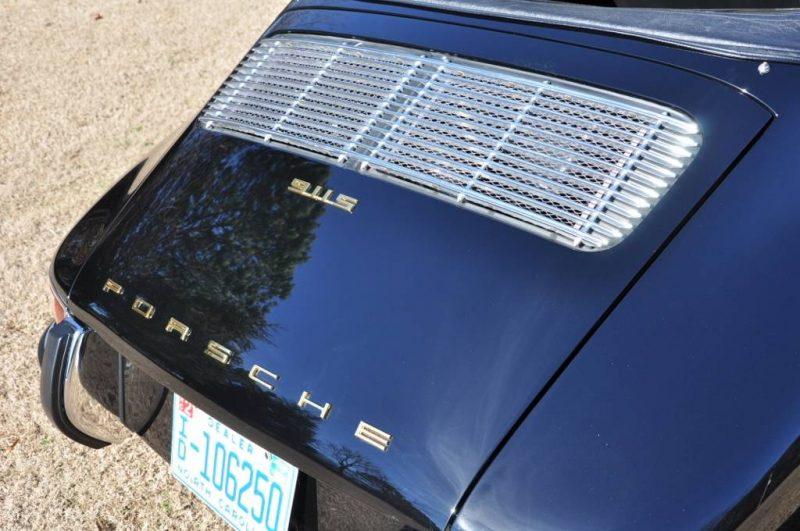 Black 1967 Porsche 911S Soft Window TARGA for sale in Raleigh NC 23