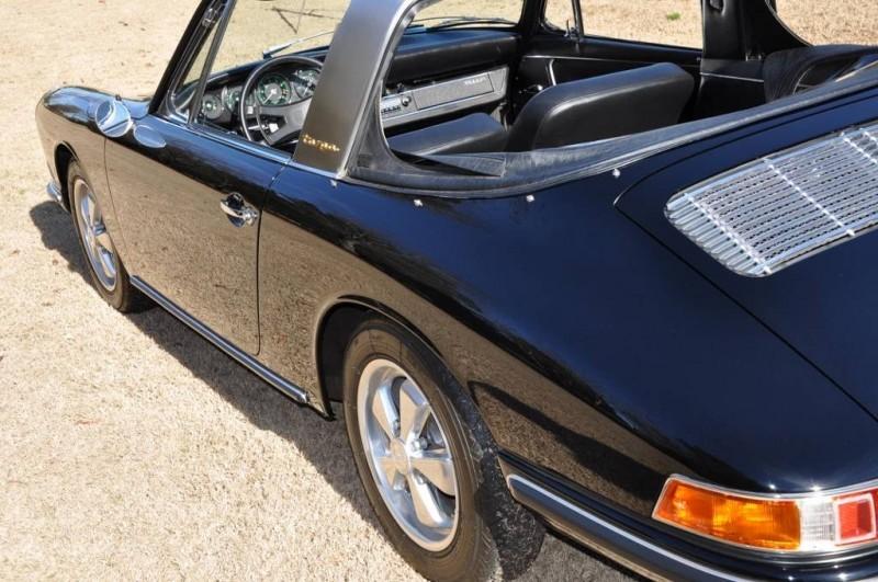 Black 1967 Porsche 911S Soft Window TARGA for sale in Raleigh NC 24