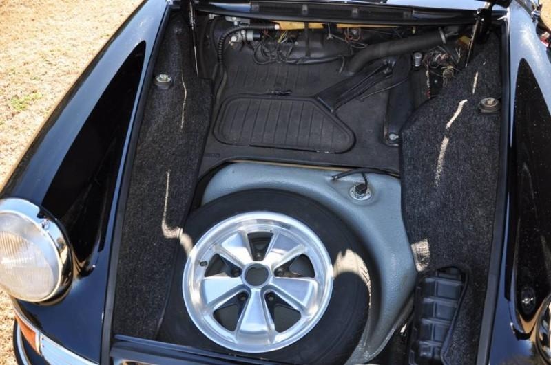 Black 1967 Porsche 911S Soft Window TARGA for sale in Raleigh NC 35