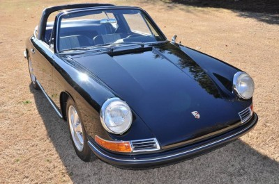 Black 1967 Porsche 911S Soft Window TARGA for sale in Raleigh NC 38