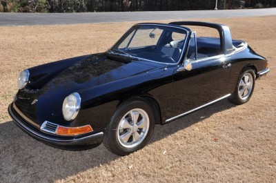 Black 1967 Porsche 911S Soft Window TARGA for sale in Raleigh NC 39