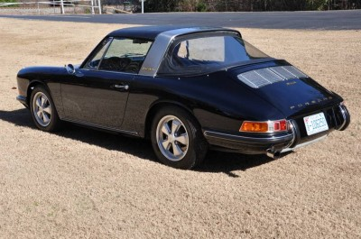 Black 1967 Porsche 911S Soft Window TARGA for sale in Raleigh NC 4