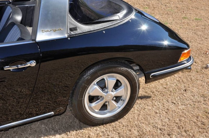 Black 1967 Porsche 911S Soft Window TARGA for sale in Raleigh NC 40
