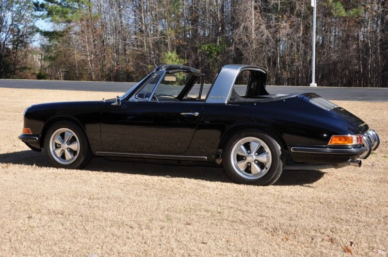 Black 1967 Porsche 911S Soft Window TARGA for sale in Raleigh NC 41