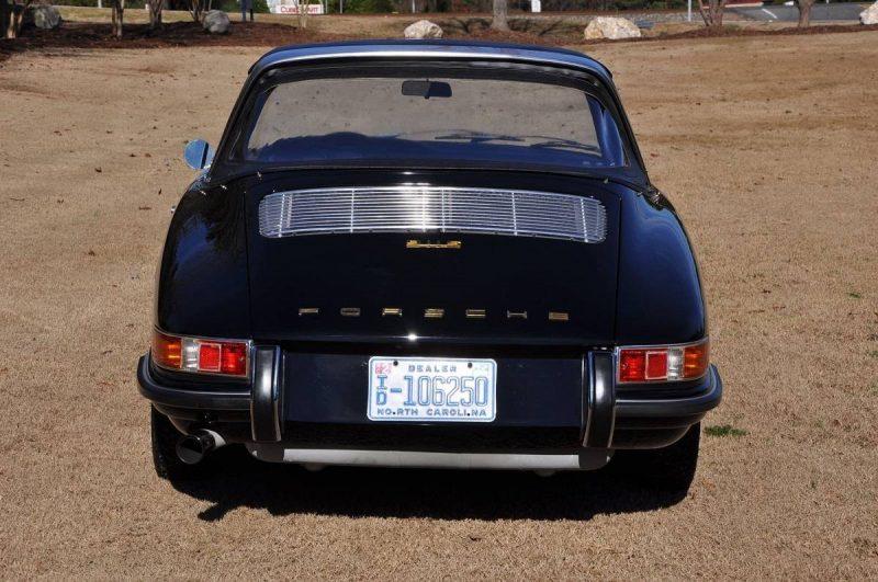 Black 1967 Porsche 911S Soft Window TARGA for sale in Raleigh NC 5