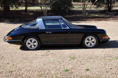 Black 1967 Porsche 911S Soft Window TARGA for sale in Raleigh NC 7