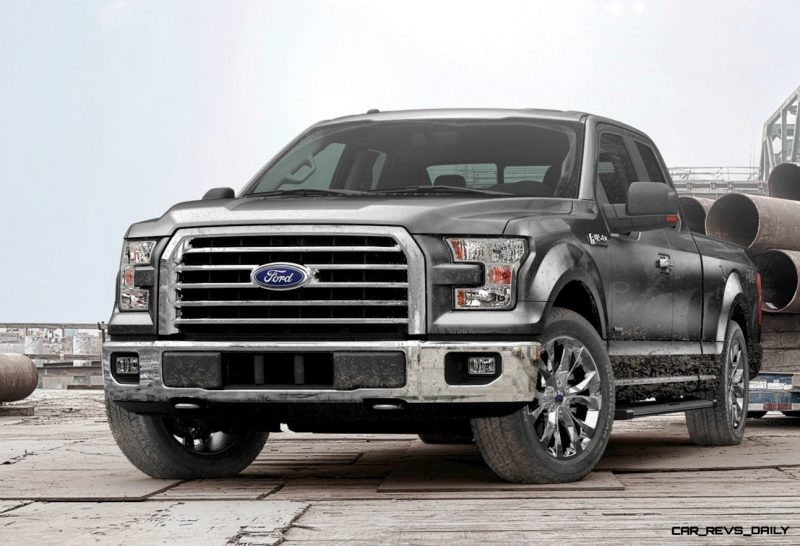 2015 Ford F-150 Leadership Facts