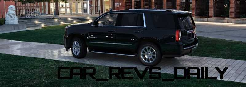 CarRevsDaily - 2015 GMC Yukon Denali - Colors - Onyx Black 11