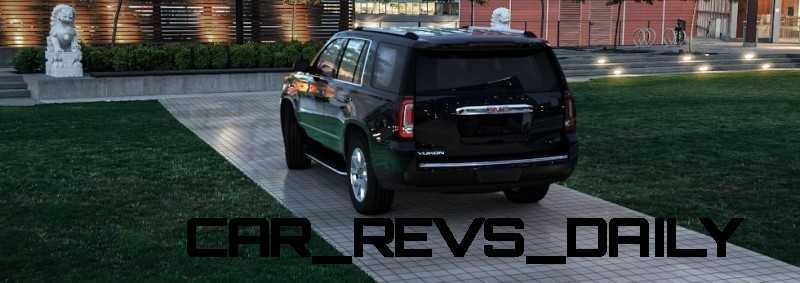 CarRevsDaily - 2015 GMC Yukon Denali - Colors - Onyx Black 15