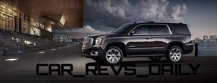 CarRevsDaily - 2015 GMC Yukon Denali - Colors - Onyx Black 23