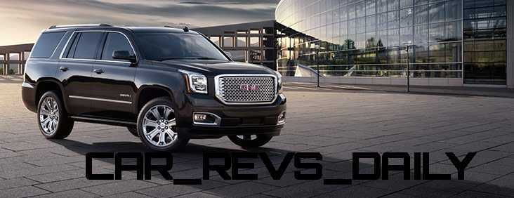 CarRevsDaily - 2015 GMC Yukon Denali - Colors - Onyx Black 24
