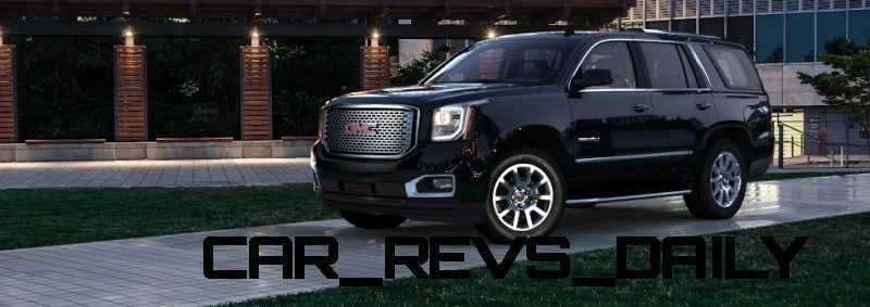 CarRevsDaily - 2015 GMC Yukon Denali - Colors - Onyx Black 3
