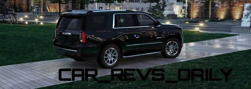 CarRevsDaily - 2015 GMC Yukon Denali - Colors - Onyx Black 38