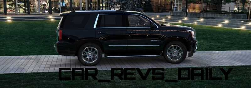 CarRevsDaily - 2015 GMC Yukon Denali - Colors - Onyx Black 41