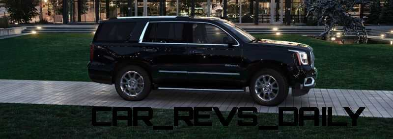CarRevsDaily - 2015 GMC Yukon Denali - Colors - Onyx Black 43