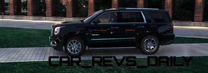 CarRevsDaily - 2015 GMC Yukon Denali - Colors - Onyx Black 7
