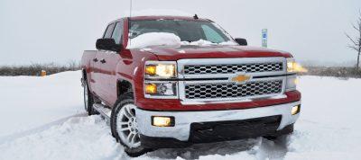 CarRevsDaily - Snowy Test Photos - 2014 Chevrolet Silverado All-Star Edition 1