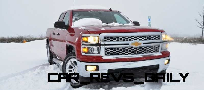 CarRevsDaily - Snowy Test Photos - 2014 Chevrolet Silverado All-Star Edition 1