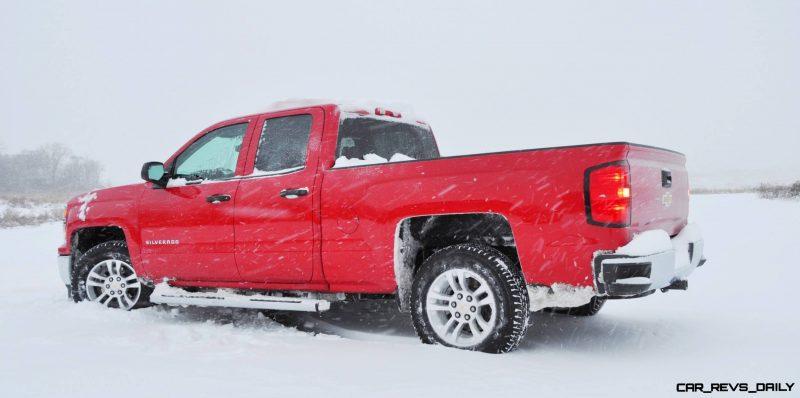 CarRevsDaily - Snowy Test Photos - 2014 Chevrolet Silverado All-Star Edition 11
