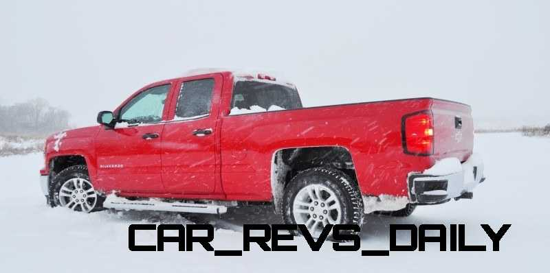 CarRevsDaily - Snowy Test Photos - 2014 Chevrolet Silverado All-Star Edition 11