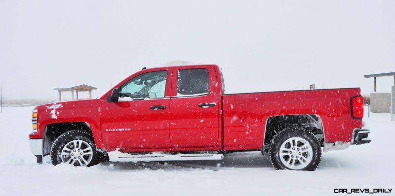 CarRevsDaily - Snowy Test Photos - 2014 Chevrolet Silverado All-Star Edition 12