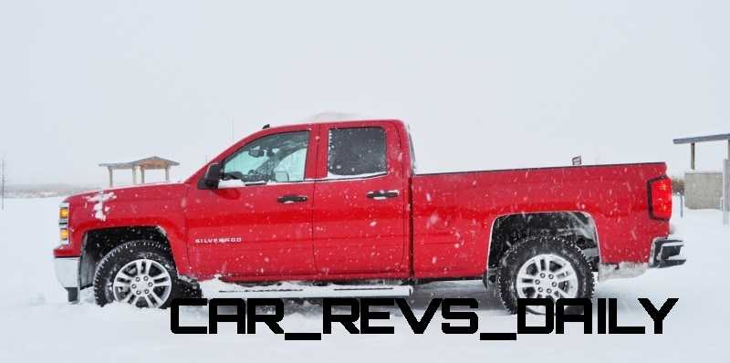 CarRevsDaily - Snowy Test Photos - 2014 Chevrolet Silverado All-Star Edition 12