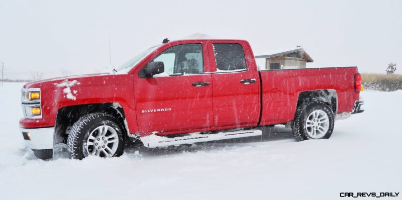 CarRevsDaily - Snowy Test Photos - 2014 Chevrolet Silverado All-Star Edition 13