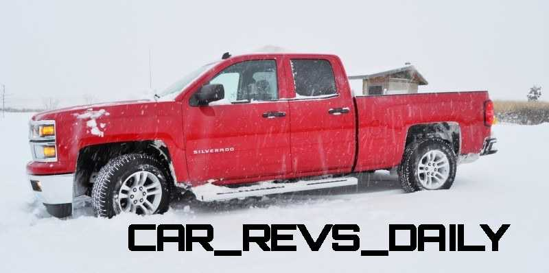 CarRevsDaily - Snowy Test Photos - 2014 Chevrolet Silverado All-Star Edition 13