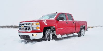CarRevsDaily - Snowy Test Photos - 2014 Chevrolet Silverado All-Star Edition 14