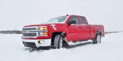 CarRevsDaily - Snowy Test Photos - 2014 Chevrolet Silverado All-Star Edition 14