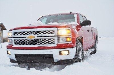 CarRevsDaily - Snowy Test Photos - 2014 Chevrolet Silverado All-Star Edition 15
