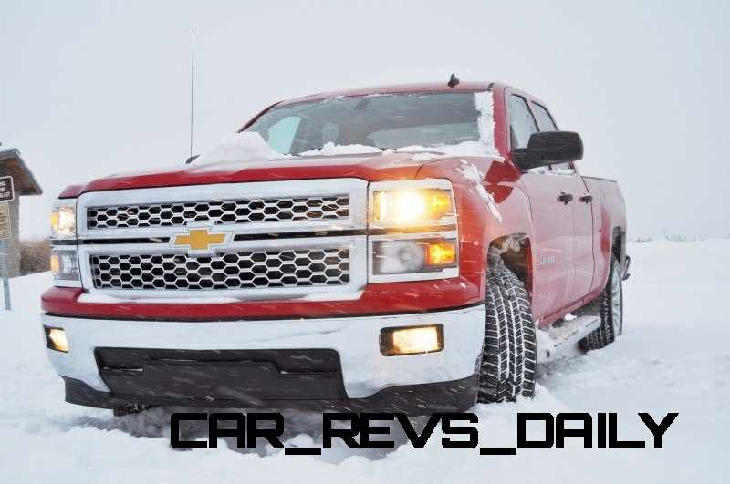 CarRevsDaily - Snowy Test Photos - 2014 Chevrolet Silverado All-Star Edition 15