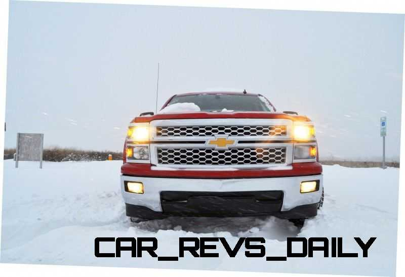 CarRevsDaily - Snowy Test Photos - 2014 Chevrolet Silverado All-Star Edition 16