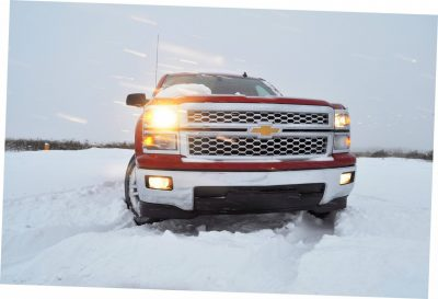 CarRevsDaily - Snowy Test Photos - 2014 Chevrolet Silverado All-Star Edition 17