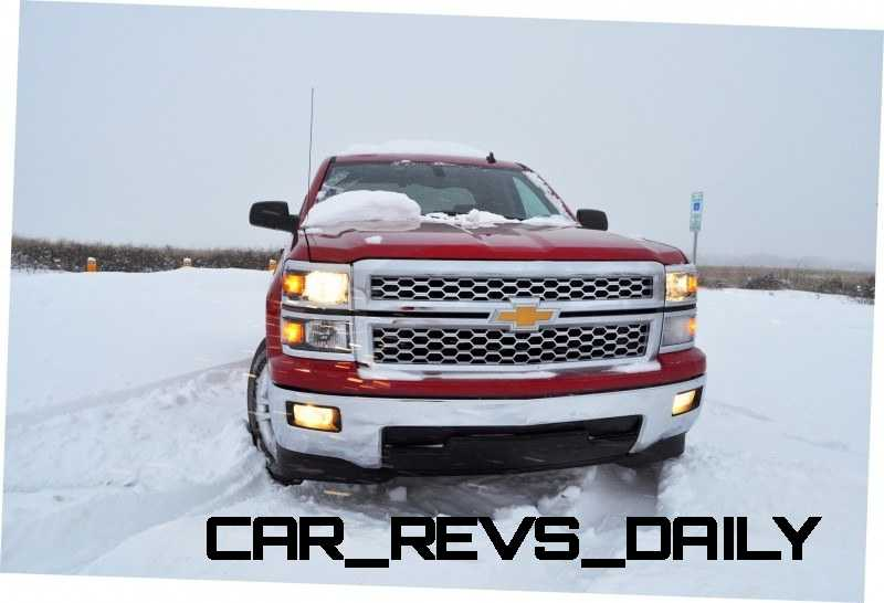 CarRevsDaily - Snowy Test Photos - 2014 Chevrolet Silverado All-Star Edition 18