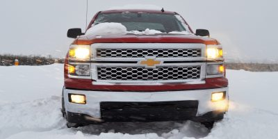 CarRevsDaily - Snowy Test Photos - 2014 Chevrolet Silverado All-Star Edition 2