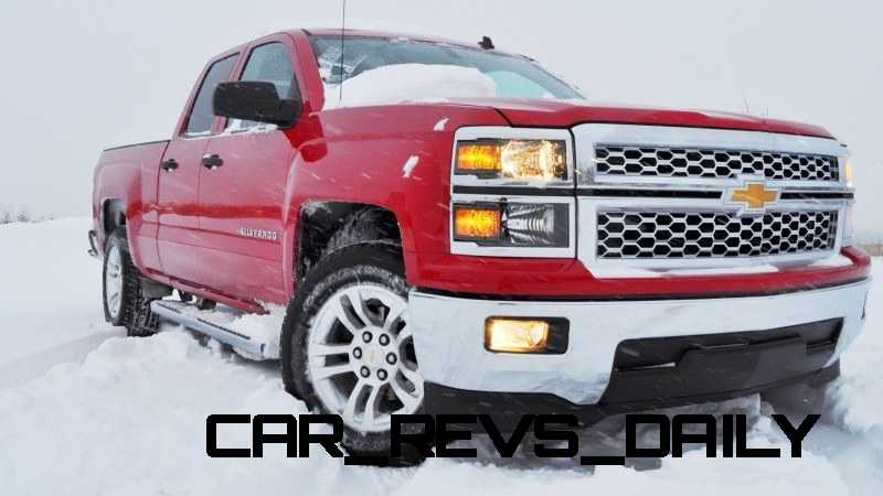 CarRevsDaily - Snowy Test Photos - 2014 Chevrolet Silverado All-Star Edition 24