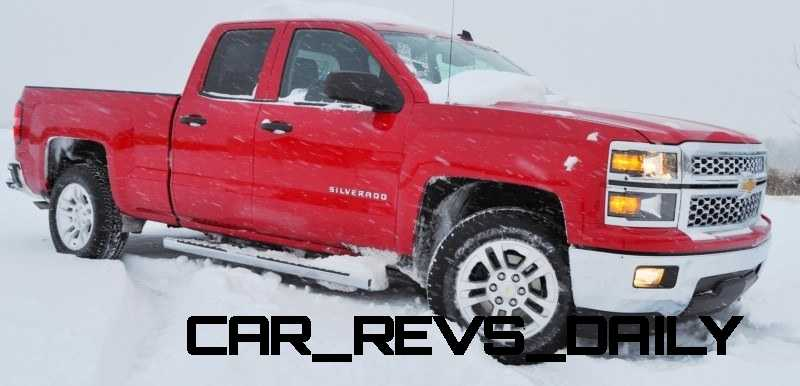 CarRevsDaily - Snowy Test Photos - 2014 Chevrolet Silverado All-Star Edition 25