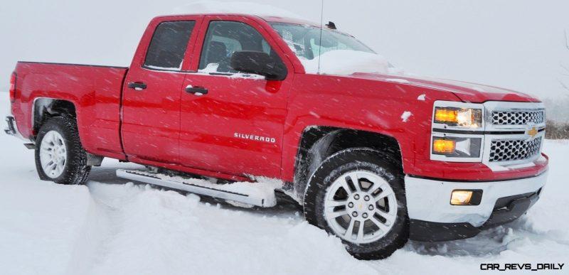 CarRevsDaily - Snowy Test Photos - 2014 Chevrolet Silverado All-Star Edition 25