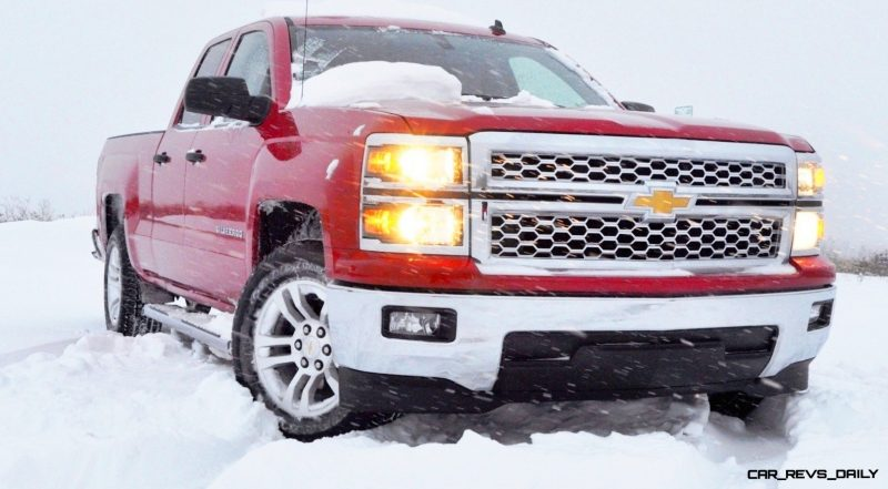 CarRevsDaily - Snowy Test Photos - 2014 Chevrolet Silverado All-Star Edition 26