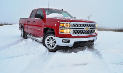 CarRevsDaily - Snowy Test Photos - 2014 Chevrolet Silverado All-Star Edition 27