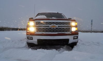 CarRevsDaily - Snowy Test Photos - 2014 Chevrolet Silverado All-Star Edition 28