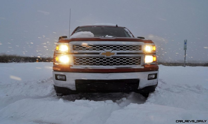 CarRevsDaily - Snowy Test Photos - 2014 Chevrolet Silverado All-Star Edition 28