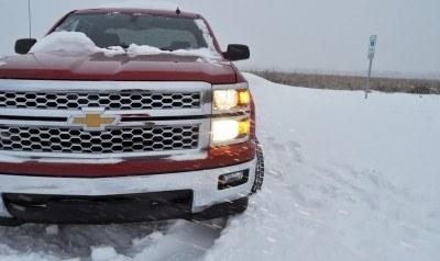 CarRevsDaily - Snowy Test Photos - 2014 Chevrolet Silverado All-Star Edition 29