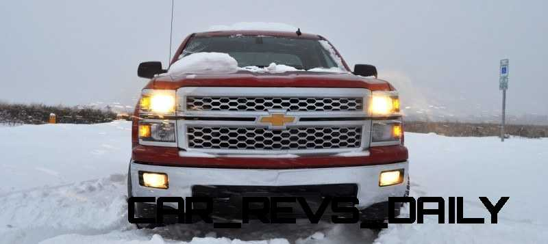 CarRevsDaily - Snowy Test Photos - 2014 Chevrolet Silverado All-Star Edition 3