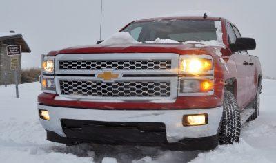 CarRevsDaily - Snowy Test Photos - 2014 Chevrolet Silverado All-Star Edition 4