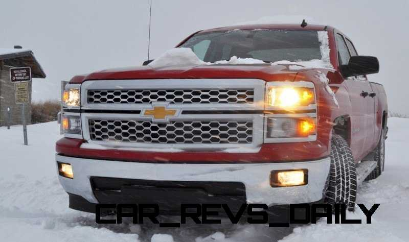 CarRevsDaily - Snowy Test Photos - 2014 Chevrolet Silverado All-Star Edition 4