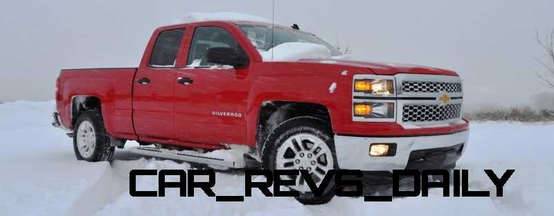CarRevsDaily - Snowy Test Photos - 2014 Chevrolet Silverado All-Star Edition 5