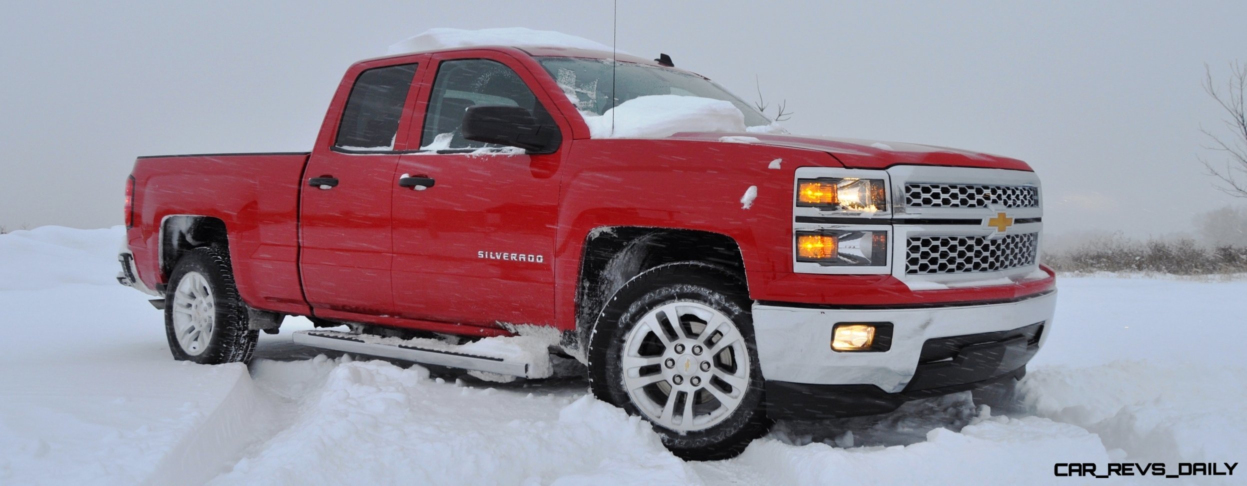 CarRevsDaily Snowy Test s 2014 Chevrolet Silverado All Star